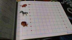 cuaderno de grafo